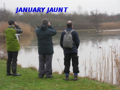 January Jaunt & AGM  Sunday 15th January 2017