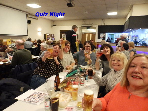 The Quiz Night - March 3rd 2017